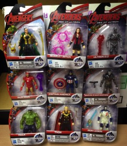 Hasbro Avengers Age of Ultron Wave 2 4 Inch Figures Scarlet Witch