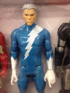 Hasbro Quicksilver Titan Hero Action Figure Close-Up