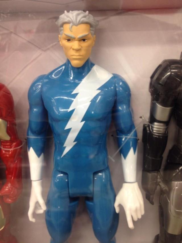 Hasbro Quicksilver Titan Hero Action Figure Close-Up