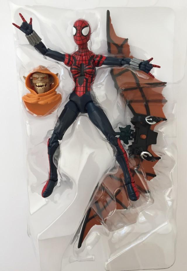 Marvel Legends Spider-Man Infinite Series Spider Girl Figure with Hobgoblin Head