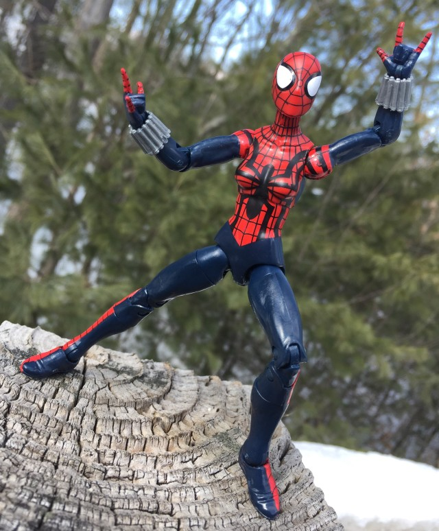 Spider-Man Legends Spider-Girl Figure 2015