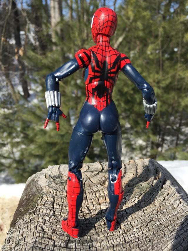 Marvel Legends Hobgoblin Series Spider-Girl Figure Back