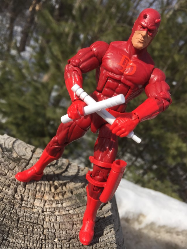 2015 Spider-Man Legends Daredevil Action Figure
