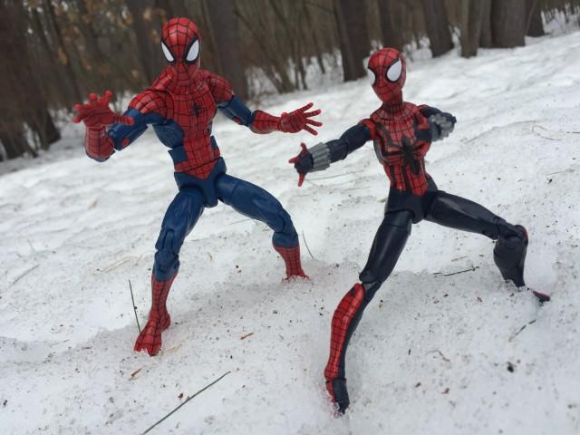 Marvel Legends 2015 Spider-Man and Spider-Girl Figures