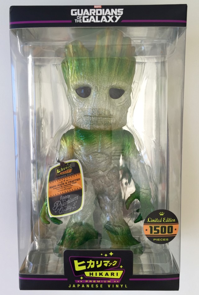 Funko Hikari Green Groot Vinyl Figure in Box Packaged