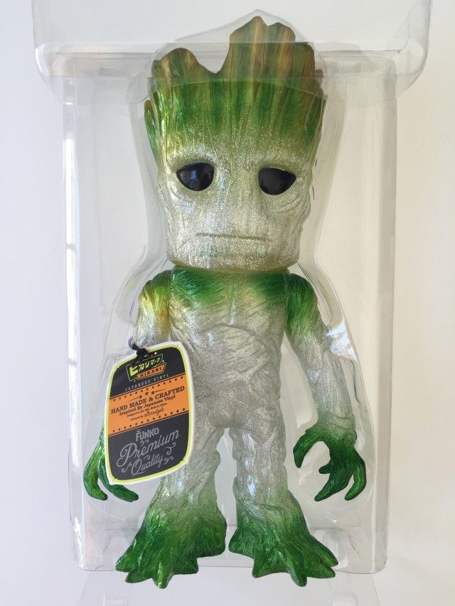 Funko Hikari Groot Regeneration Green Variant Figure in Packaging