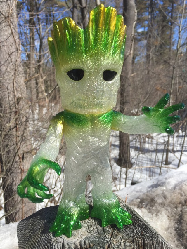 Green Groot Funko Hikari Variant Figure