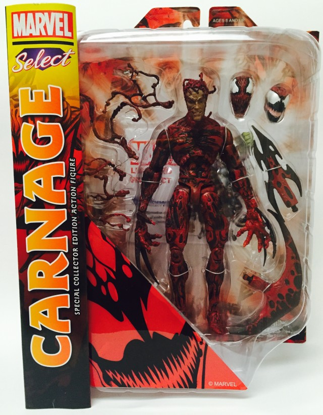 Diamond Select Toys Carnage Packaged