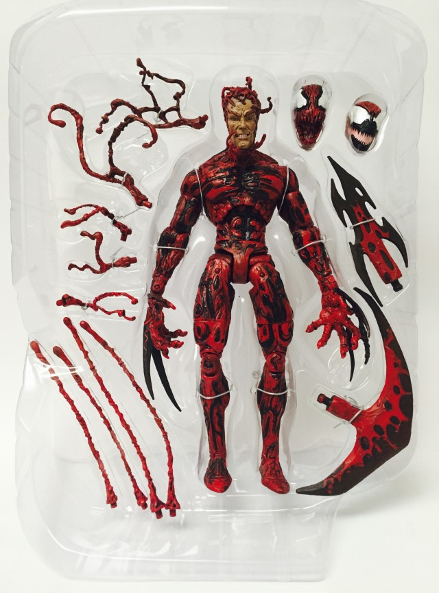 Marvel Select Carnage Figure and Accessories Cletus Kassidy Head