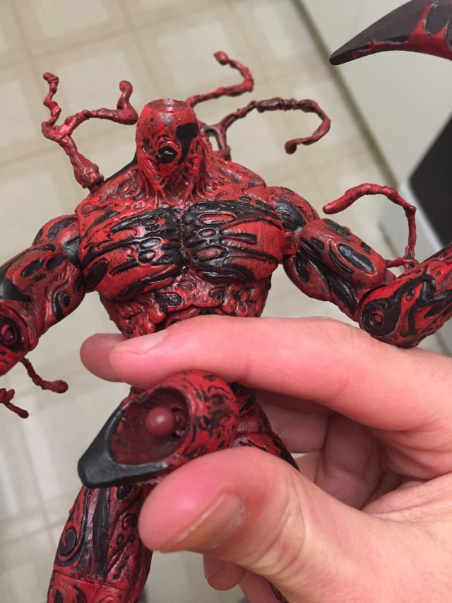 Defective Carnage Select Figure Quality-Control Problems