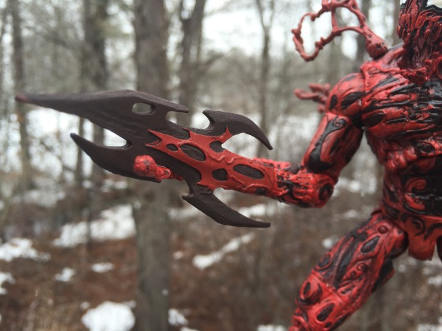 "Carnage Spear Arm Marvel Select 8"" Figure"