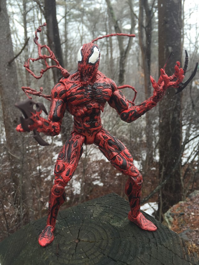 Marvel Select Carnage Figure with Modern Head