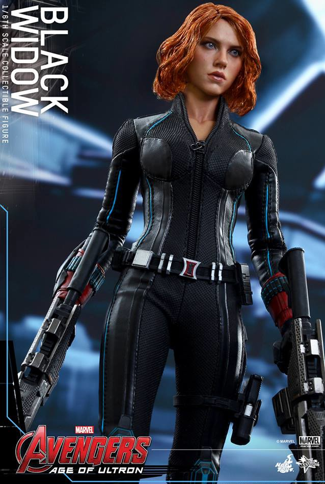 Hot Toys Avengers Age Of Ultron Black Widow Up For Order Marvel Toy News
