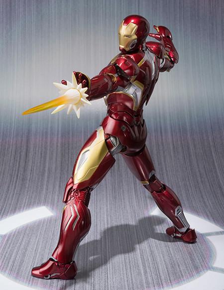 Mark 45 Iron Man S.H. Figuarts Bandai Figure 2015