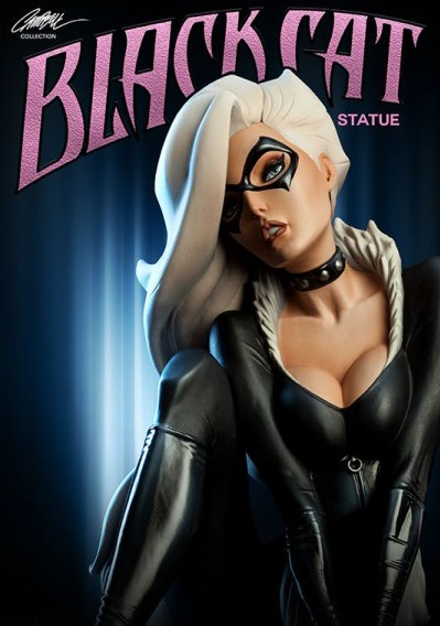 Sideshow Black Cat Statue Exclusive Edition Pre-Order