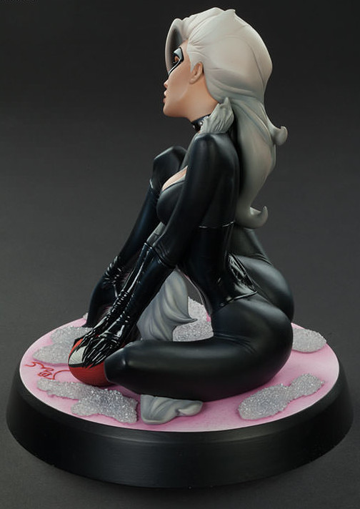 Sideshow Collectibles Black Cat Statue Butt J. Scott Campbell Spider-Man Collection