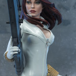 Exclusive Sideshow White Black Widow Premium Format Statue!