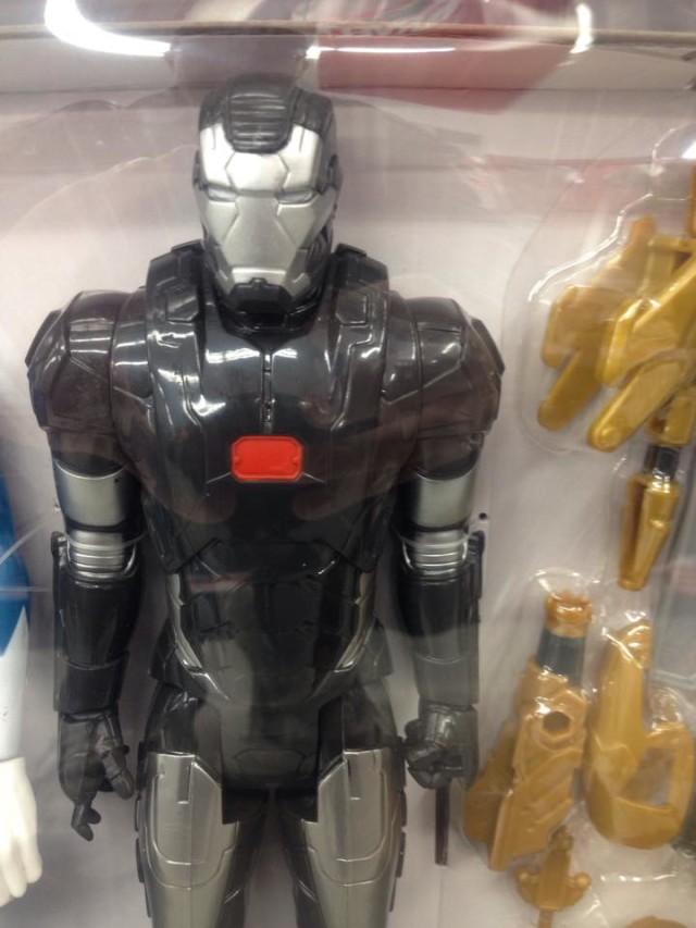 Titan Hero War Machine Figure Close-Up Toys R Us Exclusive