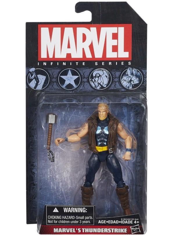 2015 Marvel Infinite Series Thunderstrike Figure Packaged