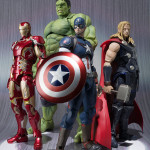 SH Figuarts Hulk Thor & Captain America Up for Order!