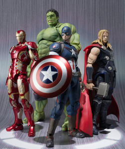 Bandai SH Figuarts Avengers Age of Ultron Figures