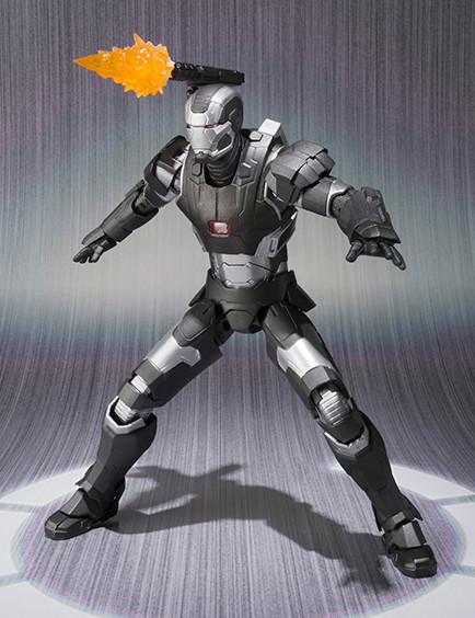 Bandai SH Figuarts War Machine Mark II Figure with Shoulder Cannon Effects Piece