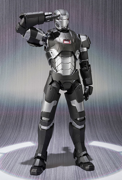 Bandai Tamashii Web Exclusive War Machine Mark II SH Figuarts Figure Saluting