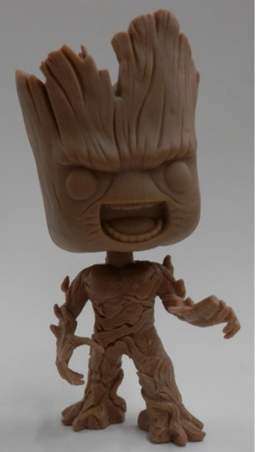 Funko Angry Groot POP Vinyl Figure Prototype Brown
