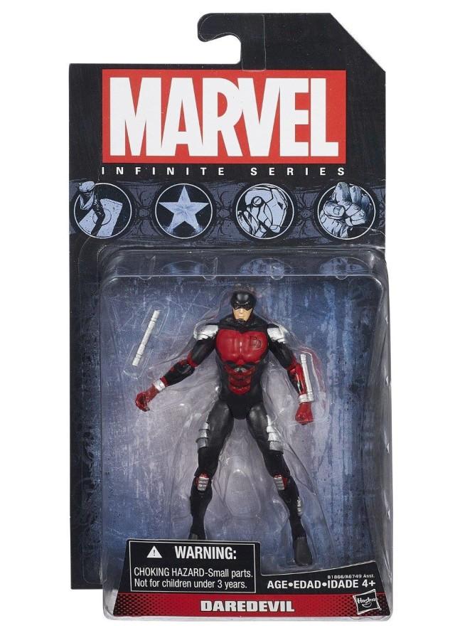 Hasbro Marvel Infinite Series Armored Daredevil Figure Packaged