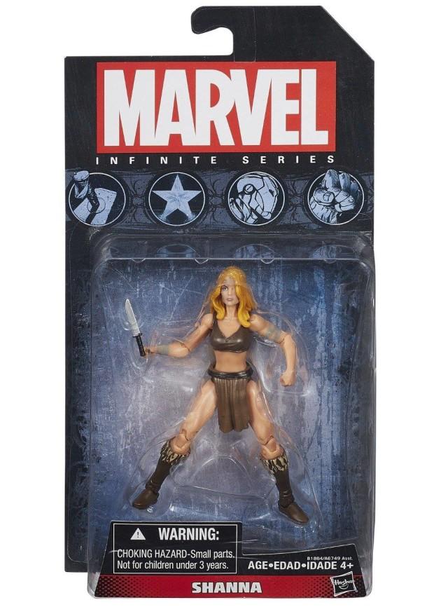 Hasbro Shanna Marvel Universe Infinite Series Figure