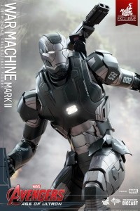 Hot Toys War Machine Mark II Figure Avengers Age of Ultron