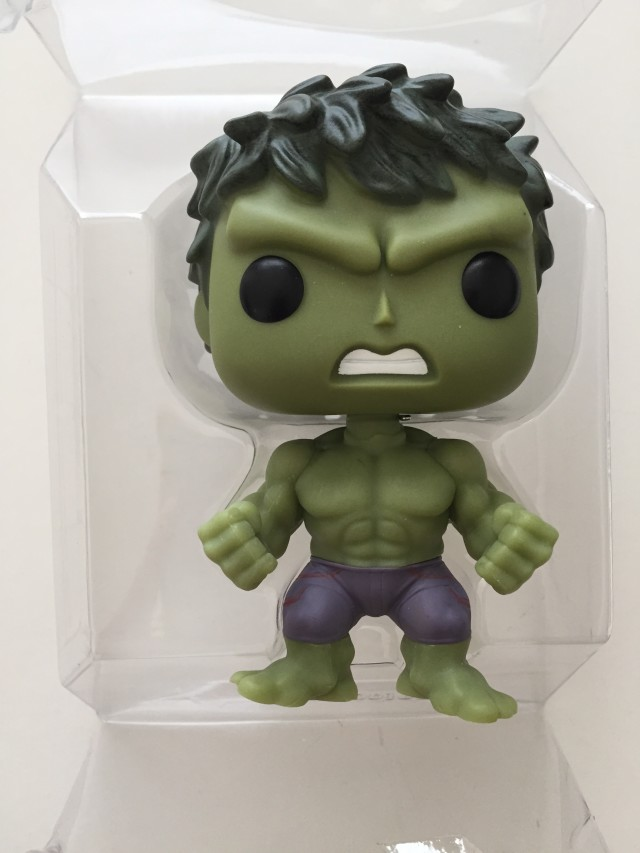 Barnes and Noble Exclusive Hulk Gamma Glow Figure in Bubble