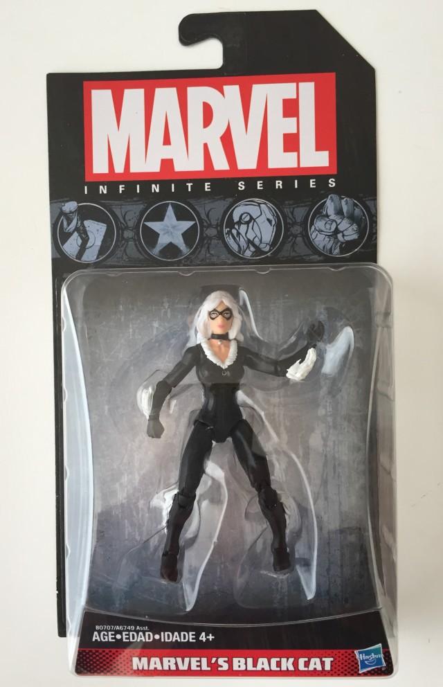 Marvel Infinite Series Wave 6 Black Cat Packaged