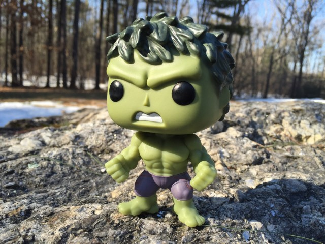 Avengers Age of Ultron Funko POP Vinyl Hulk Glow in the Dark Figure