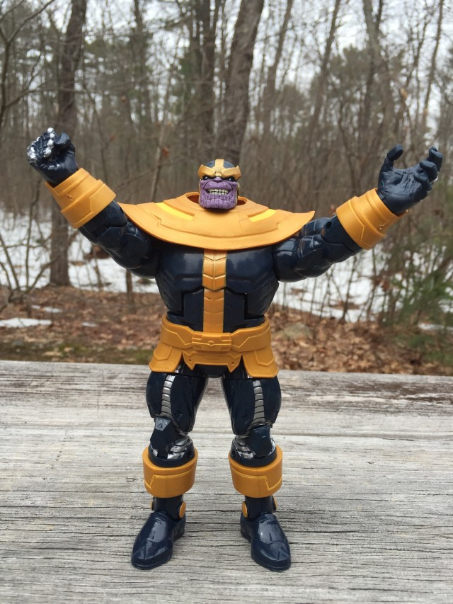 Hasbro Thanos Marvel Legends Action Figure Arms Raised