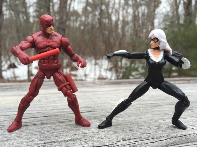 Black Cat Marvel Universe Figure vs. Daredevil