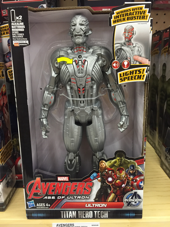 Titan Hero Tech Ultron Figure