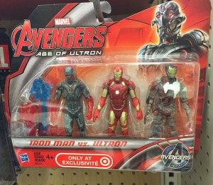 Target Exclusive Iron Man vs Ultron Three-Pack of Figures