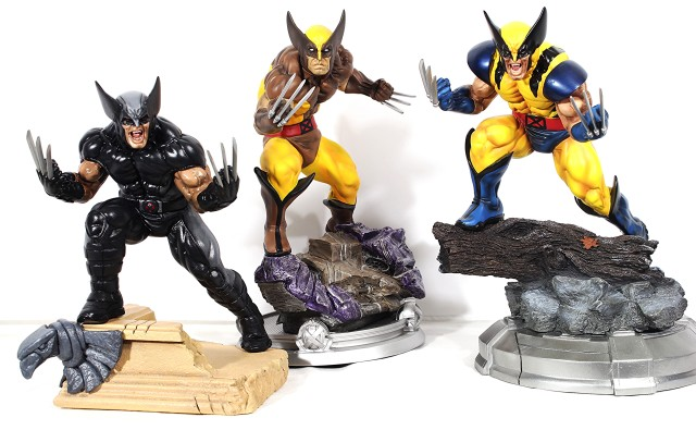 Kotobukiya Wolverine Brown Costume Statue Released