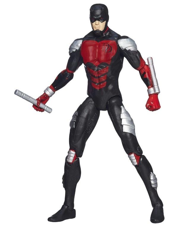 Marvel Universe Daredevil Armored Figure Hasbro 2015 Wave 7