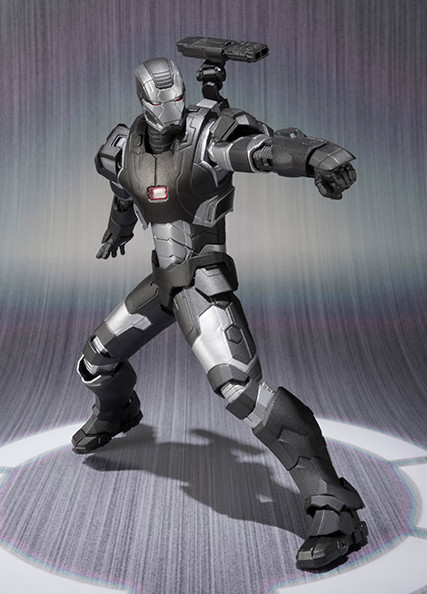 S.H. Figuarts War Machine Mark II Figure with Shoulder Cannon