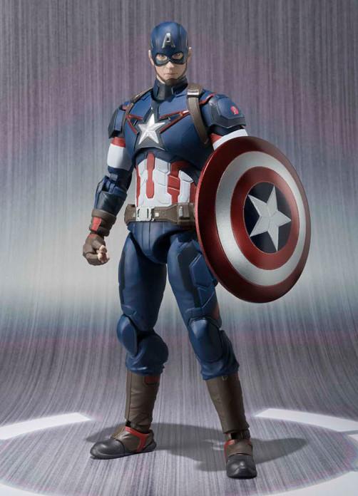 SH Figuarts Captain America Bandai Figure