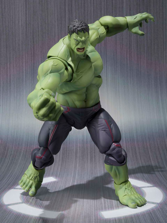 SH Figuarts Hulk Bandai Action Figure Avengers Age of Ultron
