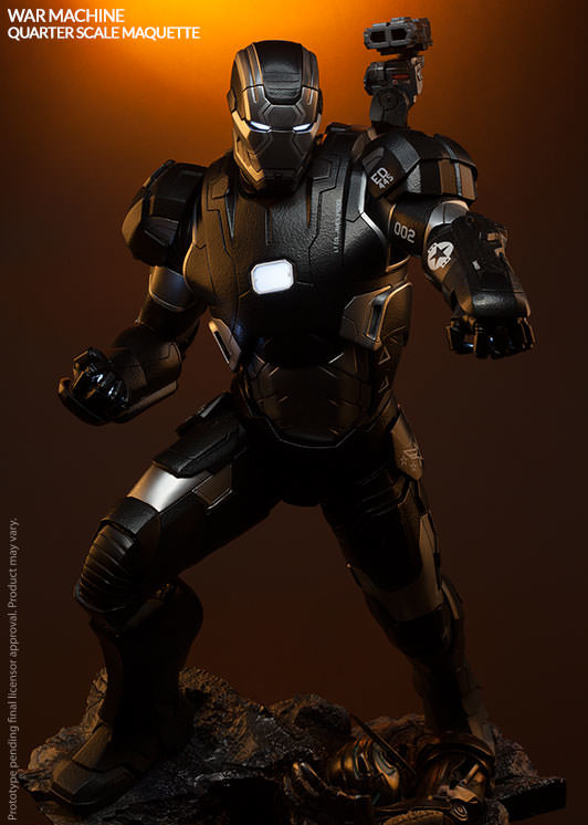Sideshow Collectibles War Machine Statue Avengers Age of Ultron