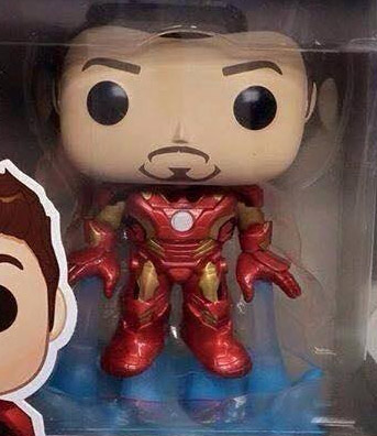 Tony Stark Funko POP Vinyls Figure