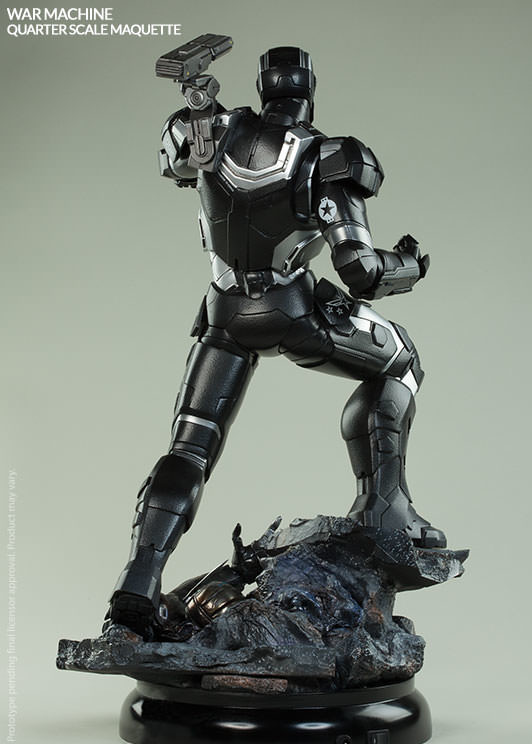 War Machine Maquette Sideshow Collectibles Statue