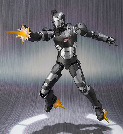 War Machine Mark II SH Figuarts Figure Effects Pieces