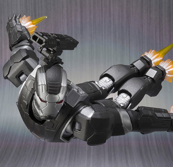 War Machine SH Figuarts Figure Flying Close-Up
