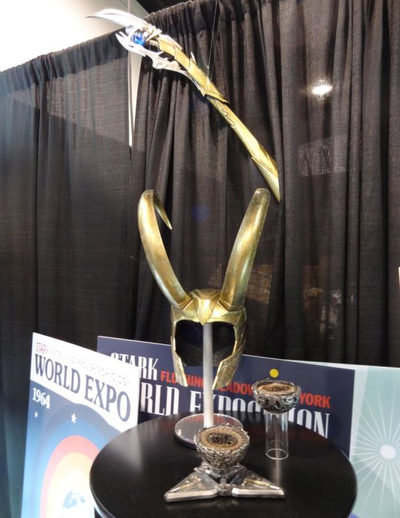 eFX Collectibles Loki's Staff and Helmet Prop Replica Prototypes
