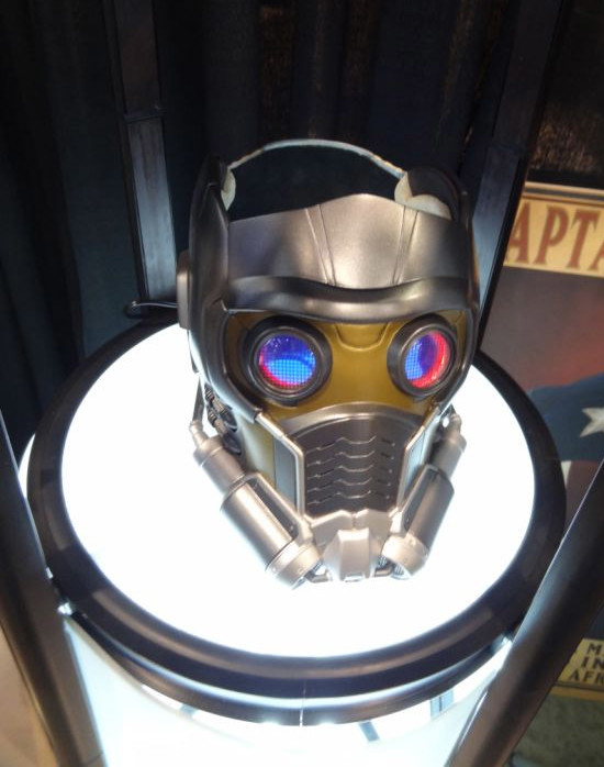 eFX Star-Lord Mask Helmet Prop Replica Prototype Guardians of the Galaxy